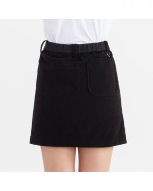 ブラック  リバーシブルスカート見る