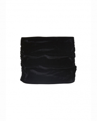 BLACK  ベロアスカートショーツ見る