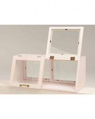 カウンター上ガラスケース 60×25×25cm見る