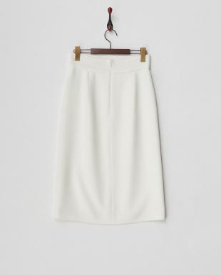 白 ETE CREPE スカート見る