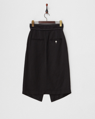 黒  SAND DUNE LINEN スカート見る