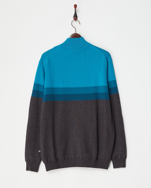 SMK MAR MLT  PEARCE LINED SWEATER見る