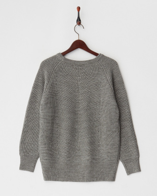 GREYMIX  C/N L/S PULLOVER見る