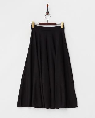 BLACK  イレギュラーヘムスカート見る