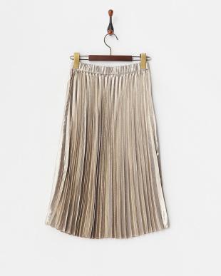 シルバーミッド  シャイニープリーツスカート見る