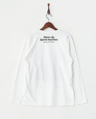 ホワイト 長袖Tシャツ スターリー ナイト フォレスト見る