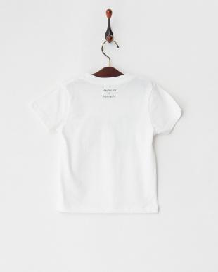 ホワイト Tシャツ はやぶさ こまち(トレインズ)見る