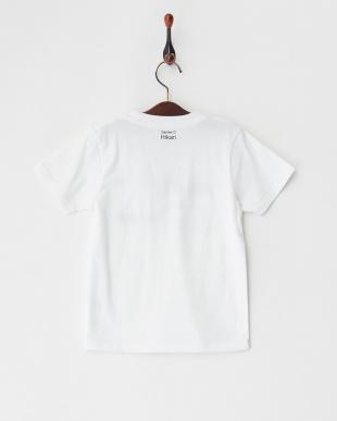 ホワイト Tシャツ ひかり(トレインズ)見る