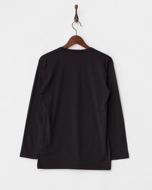BLACK  瞬暖 クルーネック 長袖Tシャツ見る