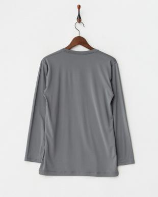 CHARCOAL GRAY  瞬暖 クルーネック 長袖Tシャツ見る