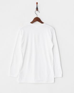 OFF WHITE  瞬暖 クルーネック 長袖Tシャツ見る