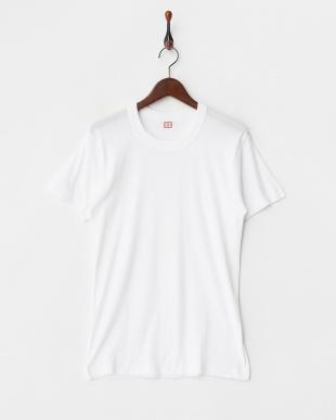 WHITE NEW STANDARD 丸首半袖Tシャツ2枚組見る