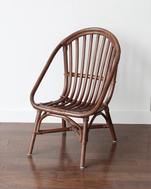 ブラウン  Rattan Chair ミニ見る