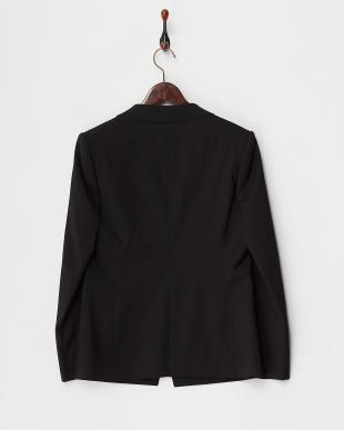 ブラック Hi Grade Suit オックスストレッチジャケット見る