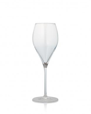 プラチナリング シャンパン&ワイン兼用 ステムグラス 6客セット見る