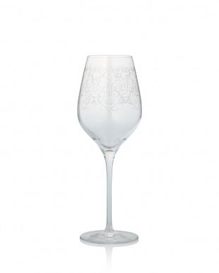 ゴールド  アラベスク フィオーリ エッチングワイングラス ペアセット          見る