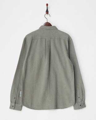GRAY  Heavy Flannel Shirts FORK&SPOON見る
