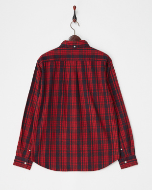 REDxNAVY  FLANNEL CHECK SHIRTS DOORS見る