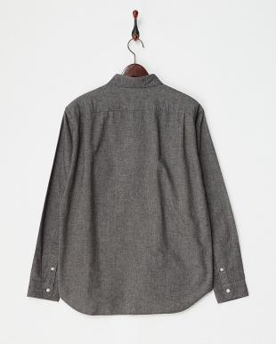Black  Flannel Chambray Shirts DOORS見る