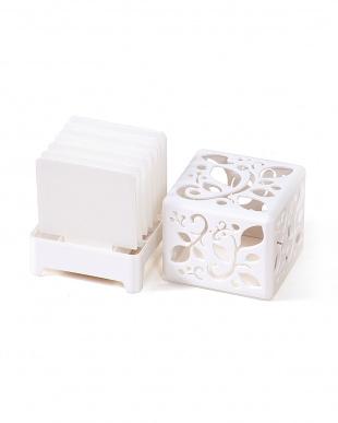 ホワイト  自然気化式加湿器 うるおいキューブ | Seiei見る