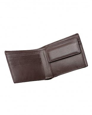 ニコチン  カイマンクロコ 二つ折り財布見る