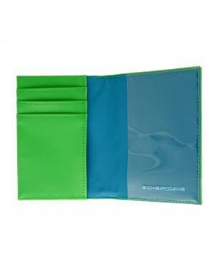 グリーン  Hello Series パスポートケース見る