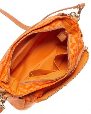 オレンジ ソフィア 2WAYショルダーバッグ見る