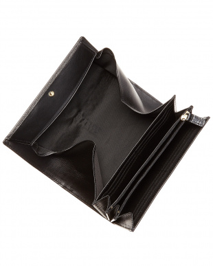 ブラック  レジーナ フラップウォレット・ボックス小銭入れ見る