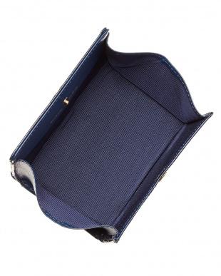 ブルー  レジーナ パスケース付ボックス小銭入れ見る