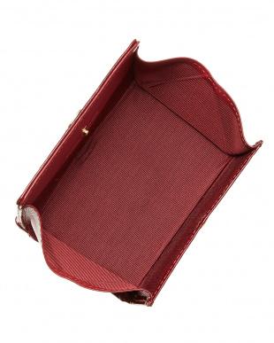 レッド  レジーナ パスケース付ボックス小銭入れ見る