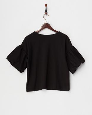 BLACK  バルーン袖カットソー見る