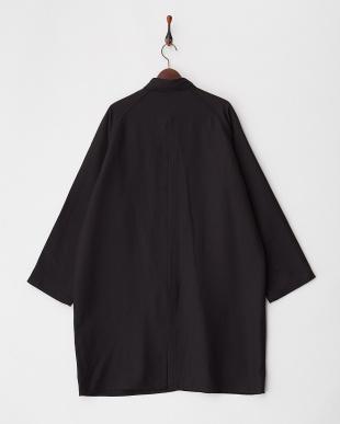 BLACK ステンカラービッグコート見る