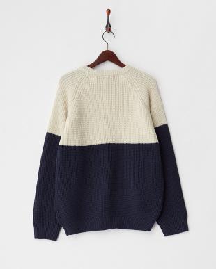 OFF WHITE  バイカラービッグセーター見る