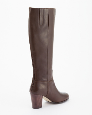 CHESTNUT  LEATHER PLACID BOOT見る