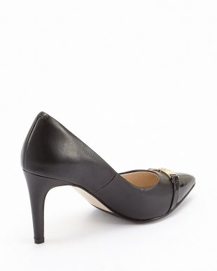 BLACK LEATHER/PTNT  DIEDRA PUMP 85MM II見る