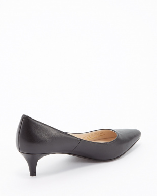 BLACK WP LEATHER JULIANA PUMP 45見る