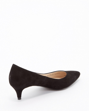 BLACK SUEDE  JULIANA PUMP 45見る