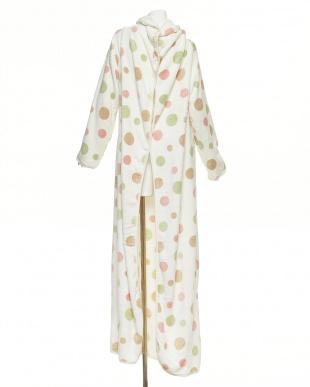 ピンク  Le midi 着る毛布見る