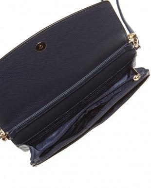 ネイビー  お財布デザインバッグ見る