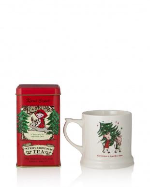 メリークリスマスティー缶/UKマグ(クリスマス)セット見る