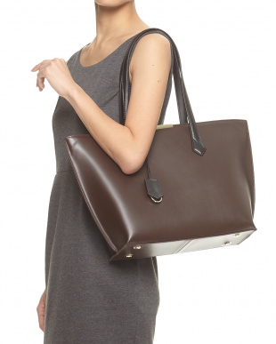 Brown  Plate Toteバッグ見る