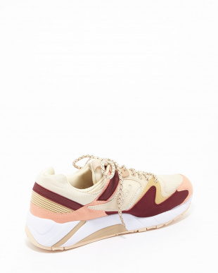 CREAM/RED/PINK Saucony Grid9000見る