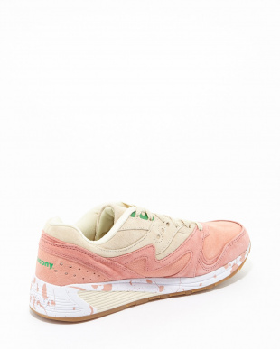 PINK/CREAM Saucony Grid8000見る