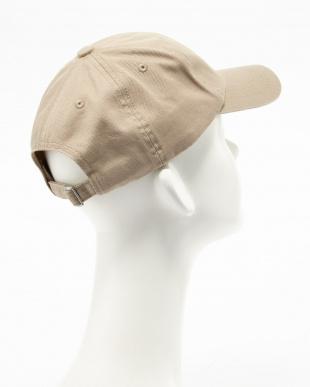 BEIGE  6PANEL BB CAP 6F見る