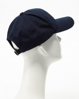 NAVY  6PANEL BB CAP 6F見る