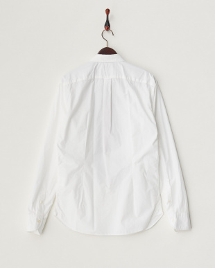 ホワイト  フロントデザインシャツ見る