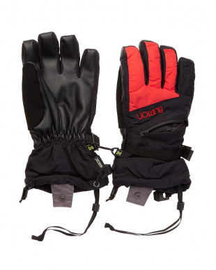 True Black / Coral Women's GORE-TEX Glove見る
