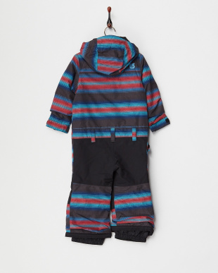 Seaside Stripe Boys' Minishred Striker One Piece見る