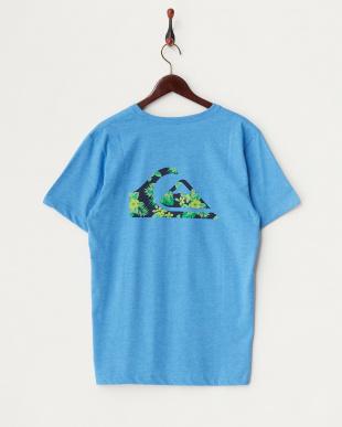 ブルー T5 プリントTシャツ見る