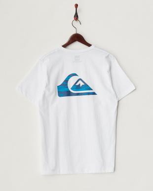 ホワイト  T-01 切り替え胸ポケットTシャツ見る